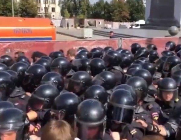 Митинг в Москве 27 июля 2019: у мэрии на Тверской задержаны свыше 1000 человек. Онлайн трансляция (ВИДЕО)