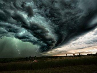 Погода на 14 дней: по прогнозам Гисметео грядущий циклон принесет ураган