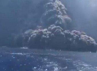 На земле Божьей в Италии взорвался вулкан, едва не погубив туристов (ФОТО, ВИДЕО)
