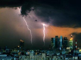 Погода в Москве на 3 дня: по прогнозу Гисметео грядет грозовой шторм