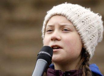 """""""Вы предатели"""": выдвинутая на Нобелевскую премию 16-летняя школьница отчитала ООН"""