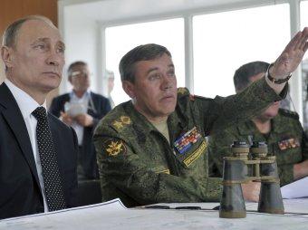 Глава Генштаба рассмешил Путина анекдотом про тощего повара