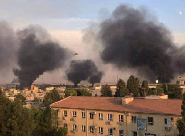 Турция массированно бомбит Сирию: есть жертвы (ВИДЕО)