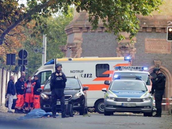 В Германии неизвестные открыли стрельбу у синагоги и кафе: есть погибшие (ВИДЕО)