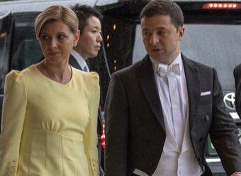 Жена Зеленского избавиться от оскорбившего японского императора платья
