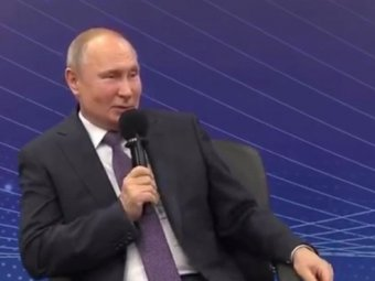 Имею ли я право?: Путин повеселил анекдотом про бабушку у юриста (ВИДЕО)