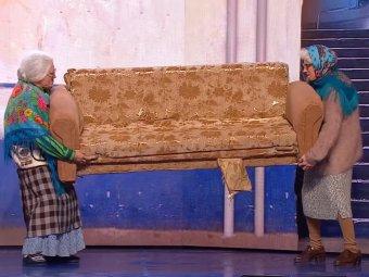 Мусорная реформа в действии: Рожков и Мясников из Уральских пельменей выдали новый хит про бабушек