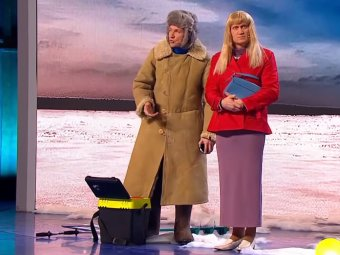 Лунка к бабам: Мясников и Рожков взорвали Сеть видео про ревнивую жену