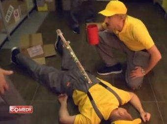Пистополка и Вентилупа: группа USB взорвала эфир Comedy Club пародией про Алиэкспресс (ВИДЕО)