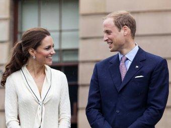 Сбросившая руку принца Уильяма со своего плеча Кейт Миддлтон попала на видео
