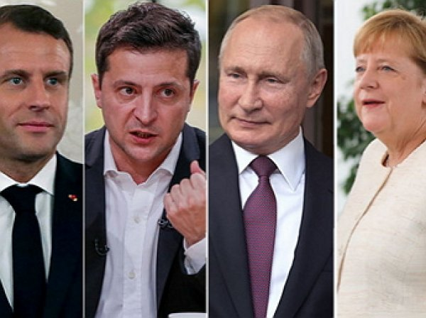 """Разговор на высоких тонах"": на саммите в Париже  Путин поставил Зеленского на место"