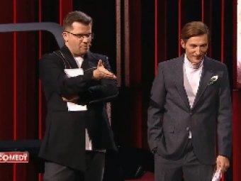 Не надо меня боятся: бодибилдерша жестко унизила напуганного Харламова на сцене Comedy Club (ВИДЕО)