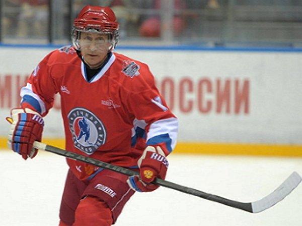 """""""Все ждут его в батискафе, а он на льду"""": игру НХЛ в поддавки с Путиным высмеяли в Сети (ВИДЕО)"""