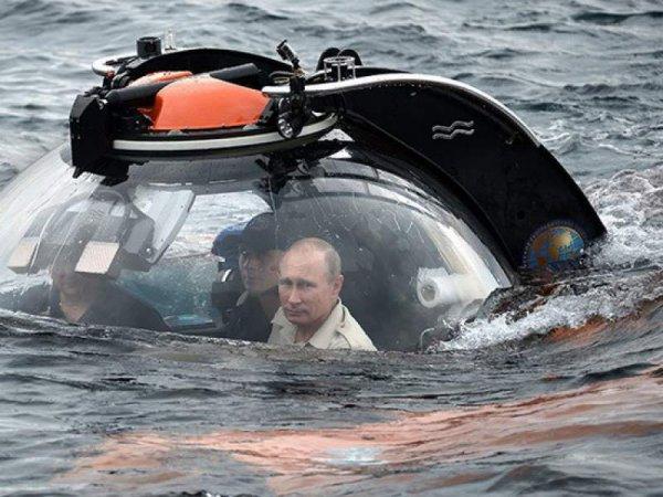 На дне Балтийского моря перед погружением Путина обнаружили минное поле