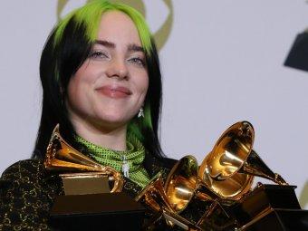 Названа лучшая песня года: Билли Айлиш стала триумфатором премии Grammy