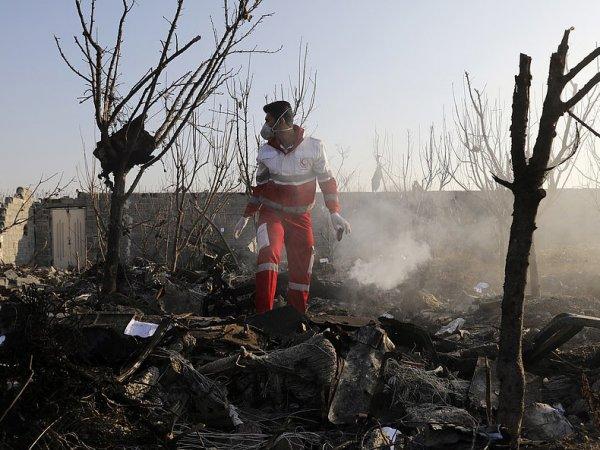 В Киеве не исключили, что Boeing в Иране разбился из-за теракта