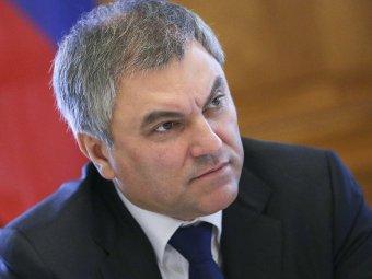 Володин затмил Кличко, отвечая на вопрос о народном голосовании по поправкам в Конституцию