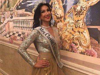 Россиянка Ксения Вербицкая победила в конкурсе Миссис Вселенная-2020