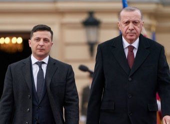 Зеленский оконфузился на встрече с Эрдоганом (ВИДЕО)