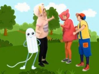 Они на свет лезут!: Харламов высмеял учебные видео с детьми и тампонами