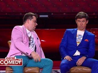 Пьяный Харламов избил Батрутдинова из-за Асмус прямо на сцене Comedy Club (ВИДЕО)
