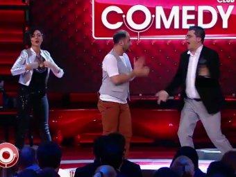 Поехали, полососнем: видео с пьяными Харламовым и Мариной Кравец в Comedy Club взорвало Сеть