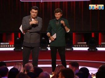 Харладон и Волязавр: оскорбленный гостем Харламов закатил скандал в эфире Comedy Club (ВИДЕО)