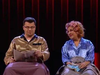 Так он же вялый!: ссора Харламова и Федункив перед 8 марта в Comedy Club попала на видео