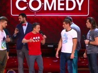 Вы - идры!: резиденты Comedy Club едва не устроили драку на сцене (ВИДЕО)