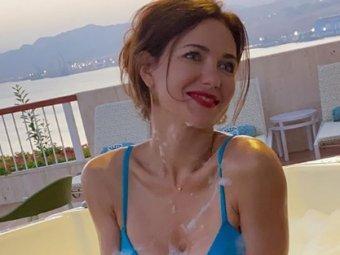 Сексуальное фото Екатерины Климовой в чулках с подвязками восхитило Сеть
