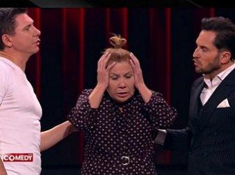 Вы друг друга попортите!: Батрутдинов и Ревва не поделили на сцене Comedy Club секс-партнершу (ВИДЕО)