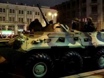 Бронетехника в центре Москвы вызвала панику: названы причины (ФОТО)