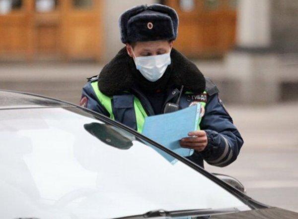 На всех въездах в Москву дежурят наряды ГИБДД: водителей просят объяснить цель прибытия