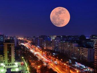 Суперлуние 2020, апрель: фото и видео явления появились в Сети