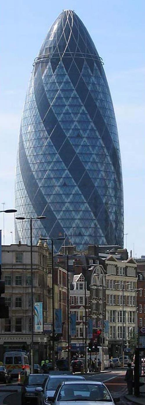 ��������� Lord Foster�s 30 St Mary Axe � ������ �������� ������������� ������� (The Gherkin) �� ��� ���������� �����. ...