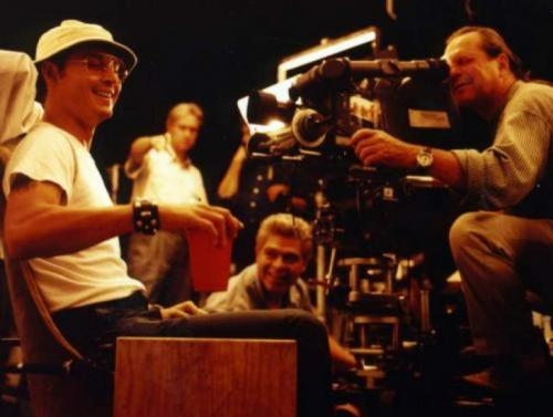 Джонни Депп на съемках фильма «Страх и ненависть в Лас-Вегасе«, 1997 год
