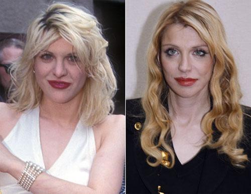 Мало кто знает, что рокерша Кортни Лав тоже побывала под ножом… И хотя она клялась и божилась, что это противоречит её взглядам и  в её прошлой жизни не было места пластической хирургии, она всё же «проговорилась» на страницах  журнала Myspace, что должна посетить своего парижского пластического хирурга снова…