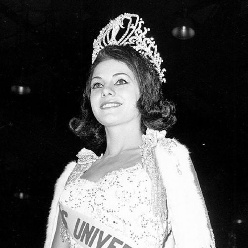 Йеда Мария Варгас, Бразилия. «Мисс Вселенная — 1963». 19 лет, рост 167 см.