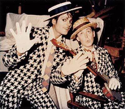 ����� ������� (Michael Jackson) � ��� ��������� (Paul McCartney)