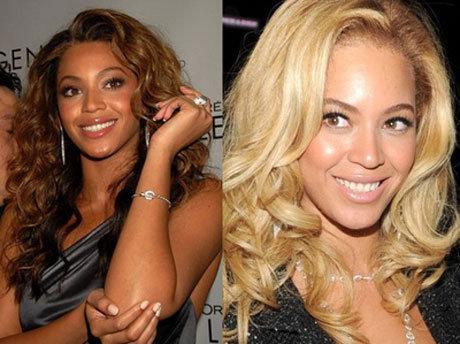 Кроме пристального внимания к отдельным частям тела девушки - публика заметила еще кое-что. Недавно певица отправилась в турне, которое подняло новую волну слухов. На промо-постерах своего шоу у певицы кожа выглядит почти белой, хотя Бейонсе от рождения мулатка со смуглой кожей. Некоторые утверждают, что она, подобно Майклу Джексону, решила стать «белым человеком».