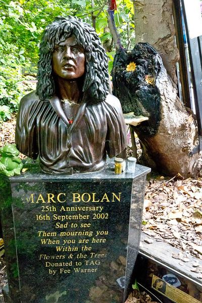 В 2002 году, в 25-ую годовщину смерти музыканта, на месте его гибели был торжественно установлен бронзовый бюст.