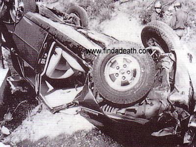 У Грейс случился за рулем инсульт, в результате чего ее автомобиль, Rover SD1 1980-го года, потерял управление, сорвался с крутого поворота и упал на склон горы. В машине также находилась дочь княгини Стефания, оставшаяся в живых.