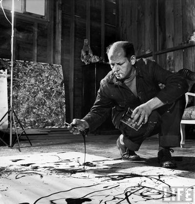 Джексон Поллок (Jackson Pollock), 28 января 1912 - 11 августа 1956 44-летний американский художник, идеолог и лидер абстрактного экспрессионизма, всю жизнь боровшийся с алкоголизмом, погиб в автокатастрофе, сев за руль своего Олдсмобиля в нетрезвом состоянии.