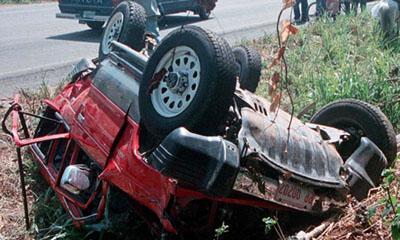 Находясь за рулем «Mitsubishi Montero Sport», Лиза, чтобы избежать столкновения с грузовиком, который неожиданно выехал ей навстречу, была вынуждена резко свернуть с дороги на обочину, где снесла несколько деревьев и несколько раз перевернулась.