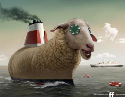 Школа английского языка FF: «Овца, корабль, фишка» («Sheep, ship, chip»).