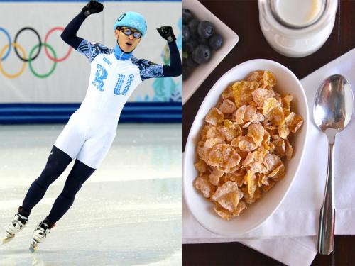 Как питаются спортсмены