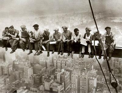 Как строили небоскребы в США в 1930-е годы - Фото - TOPNews.RU