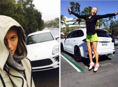 6. Porsche Panamera GTS Марии ШараповойЗвезда большого тенниса Мария Шарапова выбирает для себя исключительно автомобили Porsche. Одним из ее любимых (по всей видимости) смог стать Panamera GTS, к дизайну которого она даже приложила руку. В социальных сетях теннисистки также фигурирует белый стильный кроссовер Cayenne.