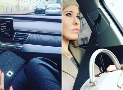 3. Audi A8 Ксении СобчакА вот Ксения Собчак предпочитает быть пассажиром, а не водителем авто. Тем не менее, автомобили она выбирает добротные. В последнее время ее все чаще видят на роскошном седане бизнес-класса Audi A8.