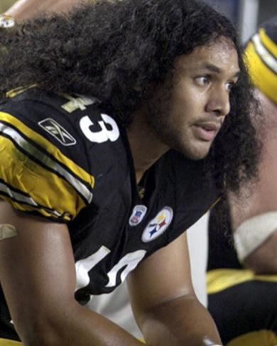 Трой Поламалу /Troy Polamalu/ В 2010 году компания Procter & Gamble застраховала волосы Троя на 1 млн долларов, так как Трой является лицом марки Head & Shoulders